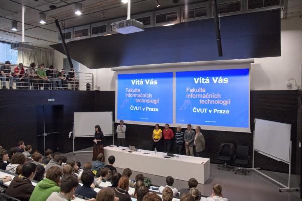 ЧВУТ в Праге Факультет информационных технологий